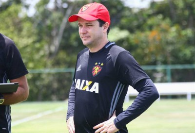 Daniel Paulista é o novo técnico do Confiança (Foto: Williams Aguiar/ Sport Club do Recife)