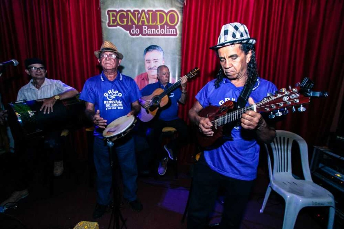 Viva a Egnaldo do Bandolim: Ícone do choro sergipano (Foto: Via Assessoria do Evento)
