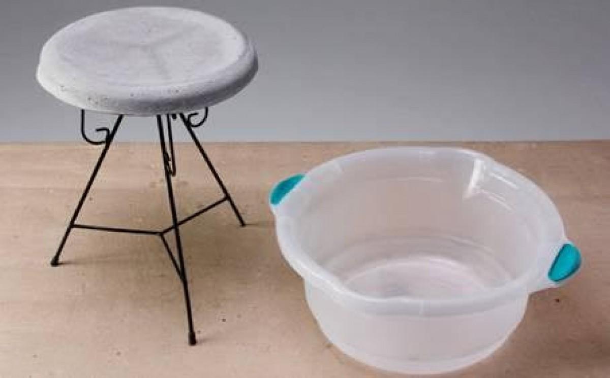 Faça uso do cimento na decoração e aprenda a fazer uma mesa moderna e estilosa do material em 8 passos (Foto: Divulgação)