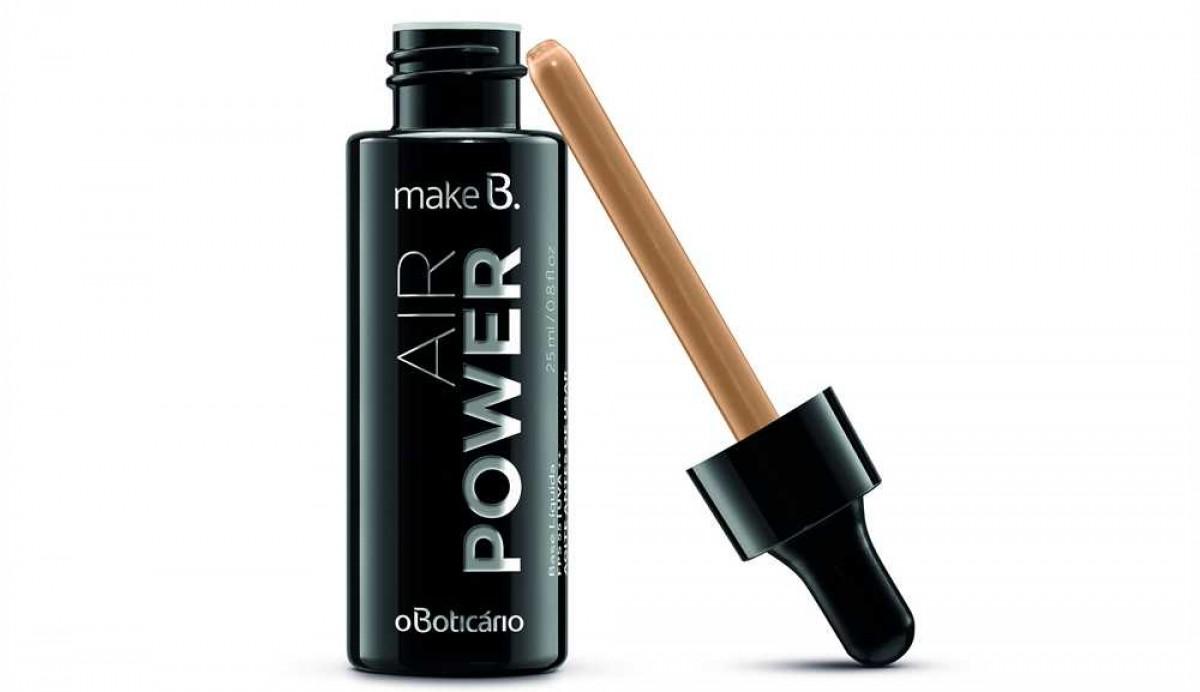 Base Make B. Air Power (Imagem: Divulgação/Assessoria O Boticário)