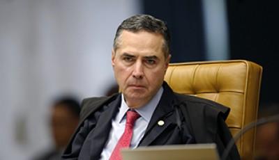 Ministro Luís Roberto Barroso, do STF (Foto de arquivo: STF)