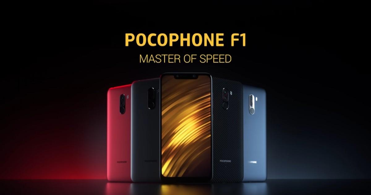 POCOPHONE F1: Snapdragon 845 and 4000mAh battery - Imagem: reprodução/YouTube/Xiaomi