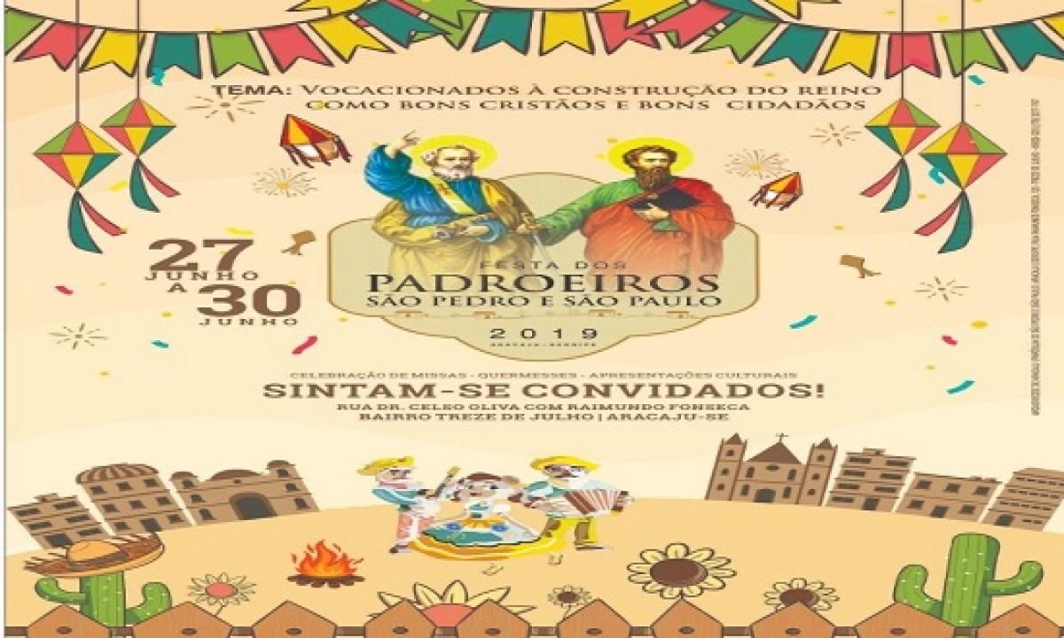 Os festejos da paróquia São Pedro e São Paulo começam nesta quinta-feira, 26 (Foto: Divulgação)