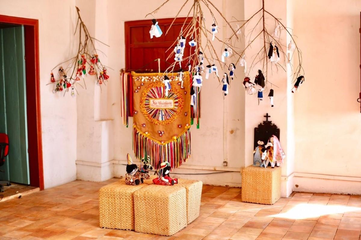 Casa do Iphan realiza exposições na área de arquitetura e folclore (Foto: Heitor Xavier/ Prefeitura de São Cristóvão)