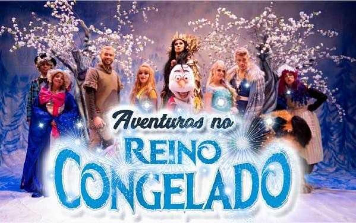 """Cia de Teatro Carlos Moreira traz a Aracaju o espetáculo """"Aventuras no Reino Congelado"""" (Imagem: Divulgação)"""