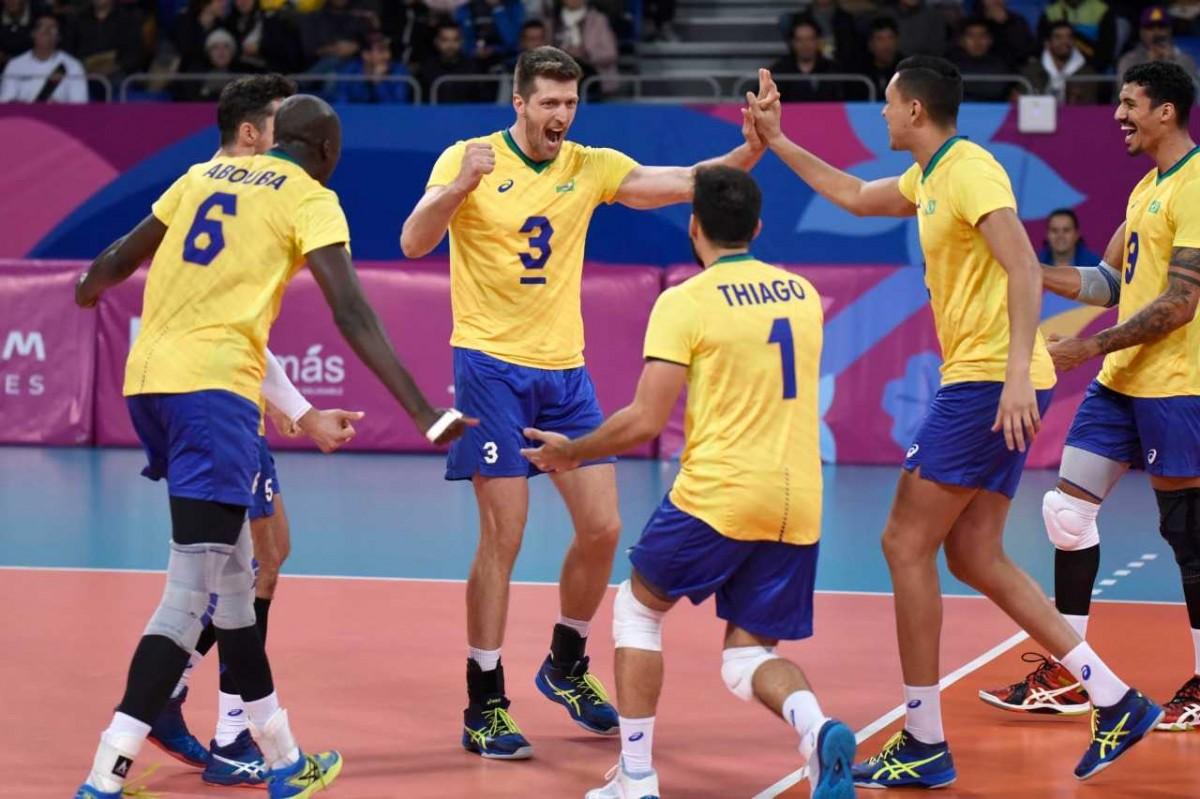 Seleção brasileira terceira colocada no Pan (Foto: Victor Calvo)