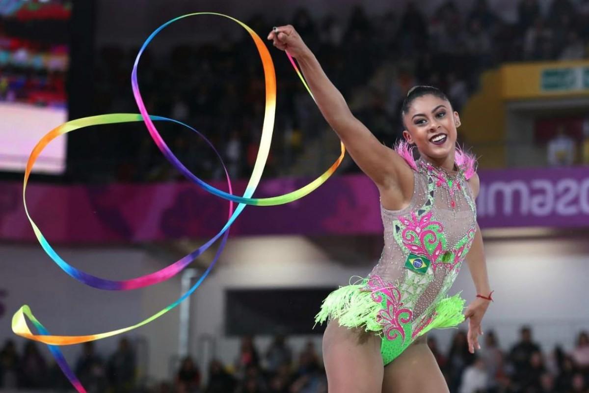 Ginástica rítmica ganha ouro nos Jogos Pan-Americanos de Lima (Foto: Ricardo Bufolin/ CBG)