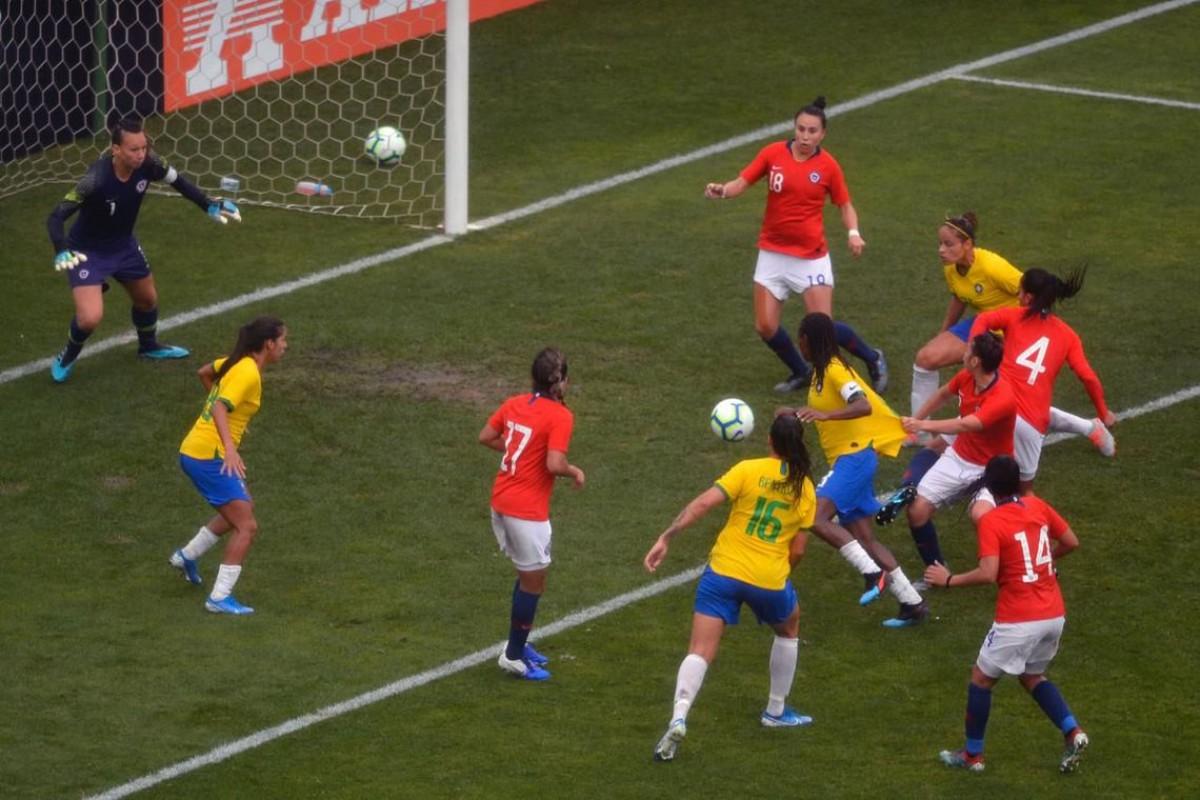 Seleção feminina é vice em Torneio Internacional de Futebol (Foto: Mauro Horita/ CBF)