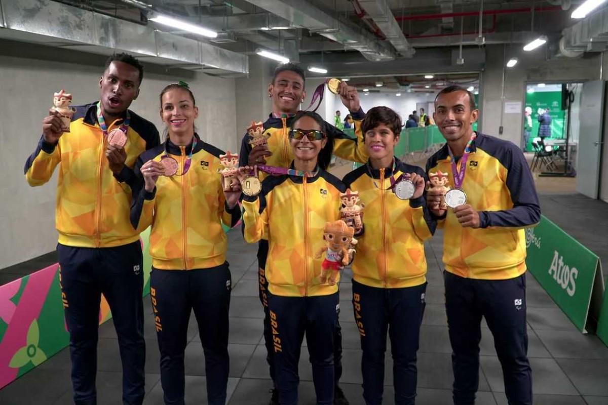 Em Lima, Brasil bate recorde histórico com 308 medalhas (Foto: Rodolfo Vilela/ Rede do Esporte)