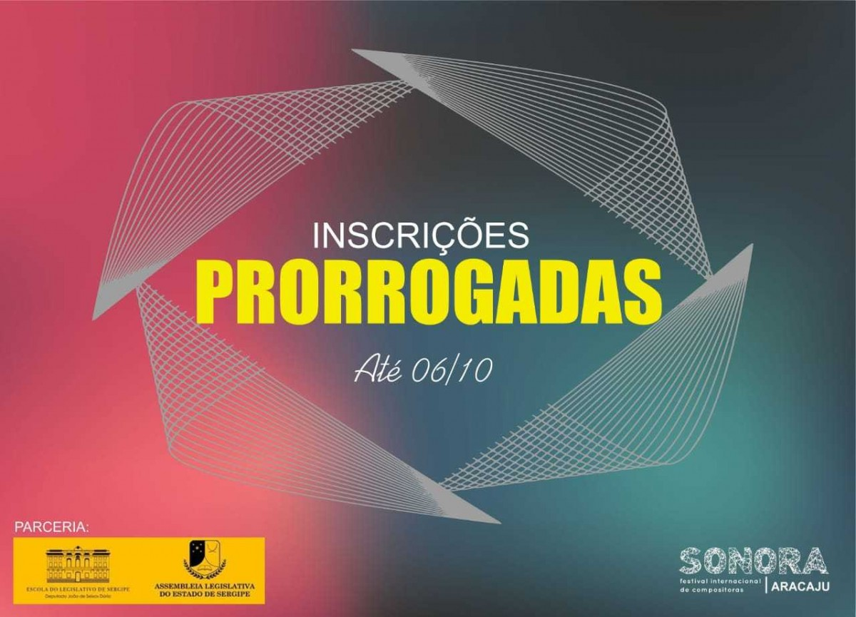 O Maior Festival Internacional de Compositoras será realizado mais uma vez em Aracaju (Imagem: Divulgação)