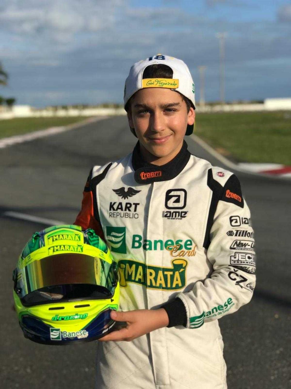 Guilherme Figueiredo vai disputar a Copa Brasil de Kart em Santa Catarina (Foto: Via FM assessoria)