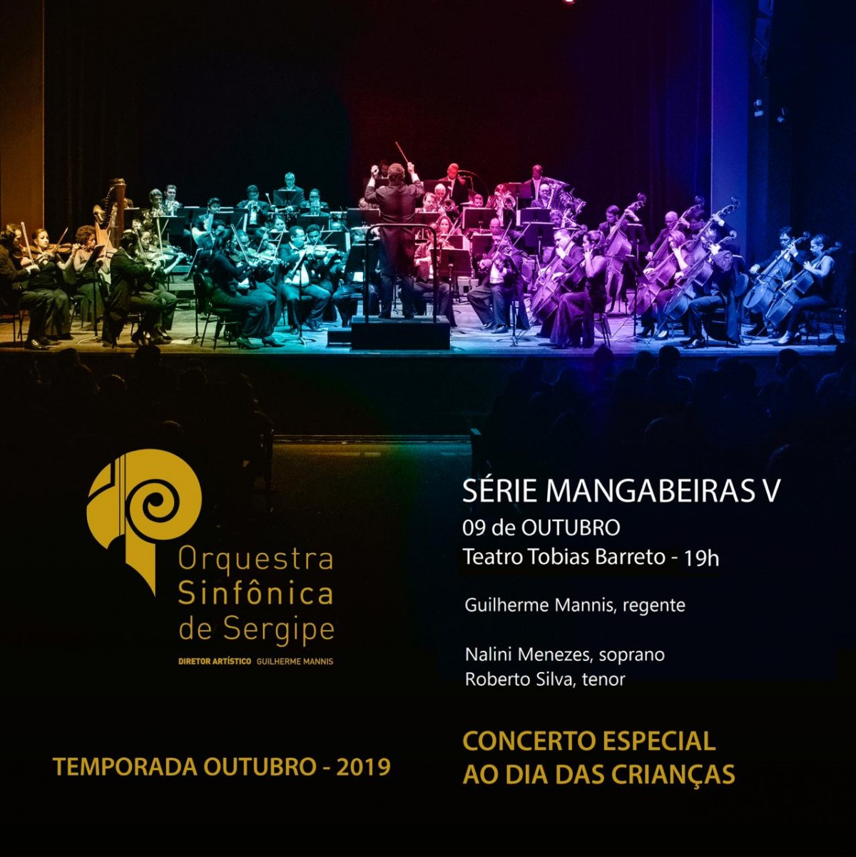 Orsse apresenta Concerto da Criança no Teatro Tobias Barreto (Imagem: Divulgação)