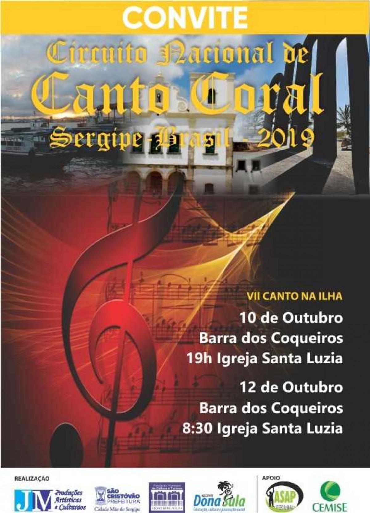 VII Festival Nacional de Coros Canto na Ilha (Imagem: Divulgação)