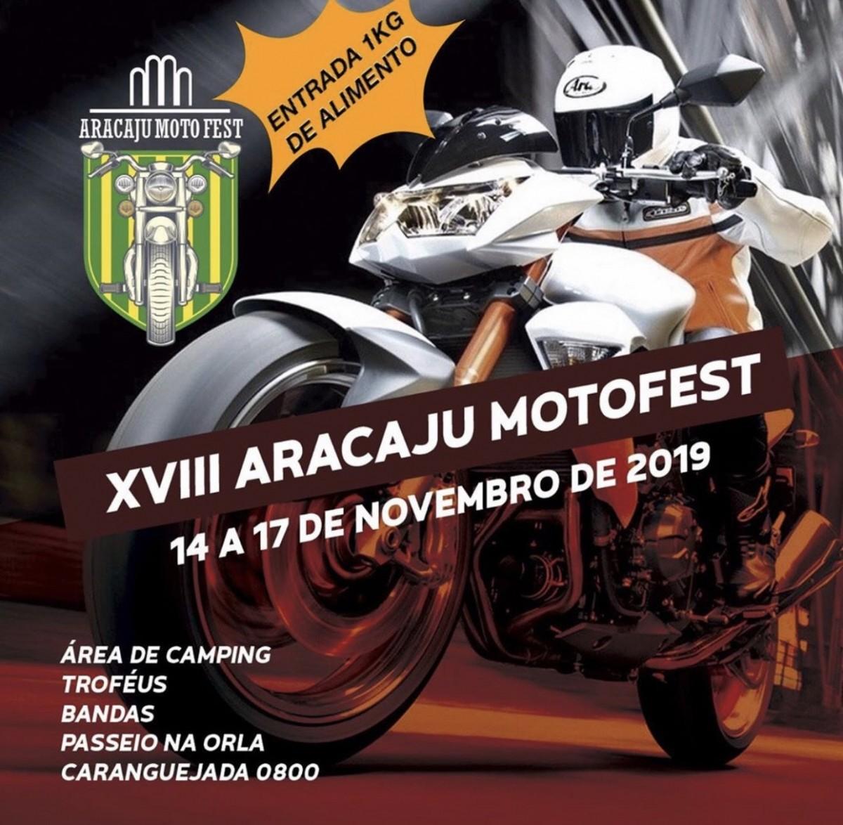 Aracaju Moto Fest no Kartódromo da Orla (Imagem: Divulgação)