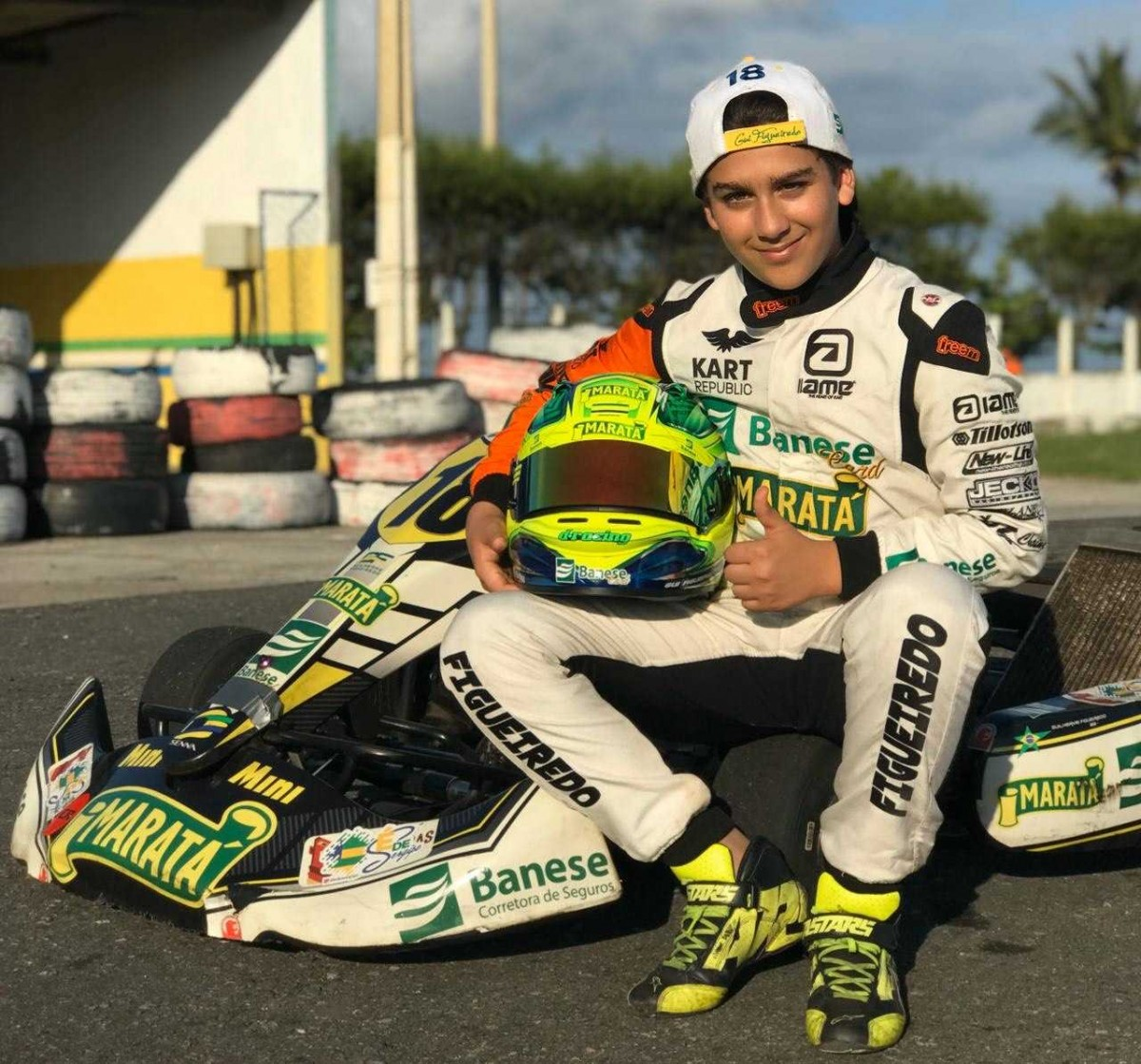 Guilherme Figueiredo vai disputar o torneio Superkarts USA em Las Vegas (Foto: Via FM Assessoria)