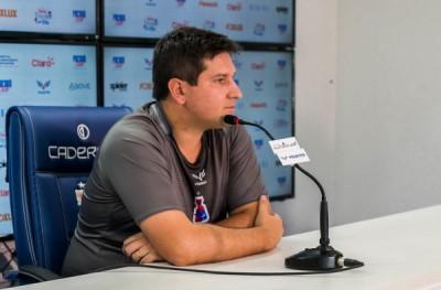 Matheus Costa é o novo técnico do Confiança (Foto de arquivo: Divulgação/ Rui Santos/ Paraná Clube)