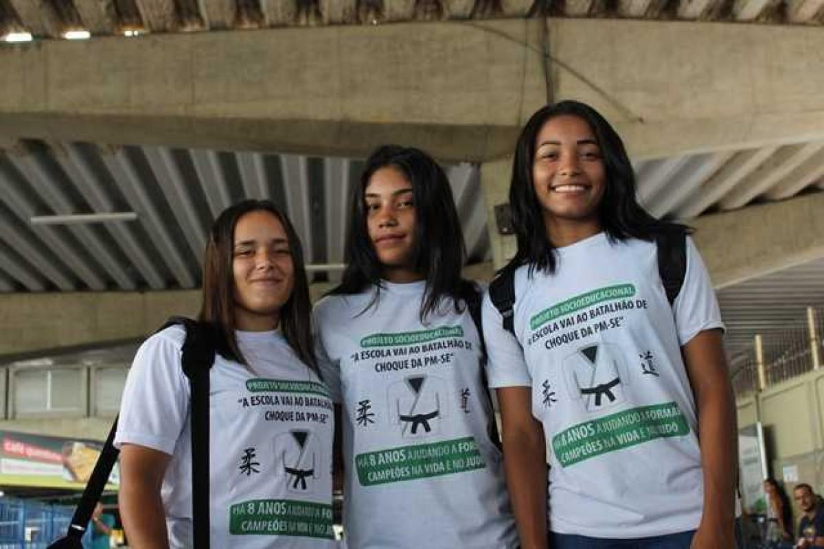 Judô representa oportunidade de ascensão para sergipanas (Foto: Unicom Fies/SE)