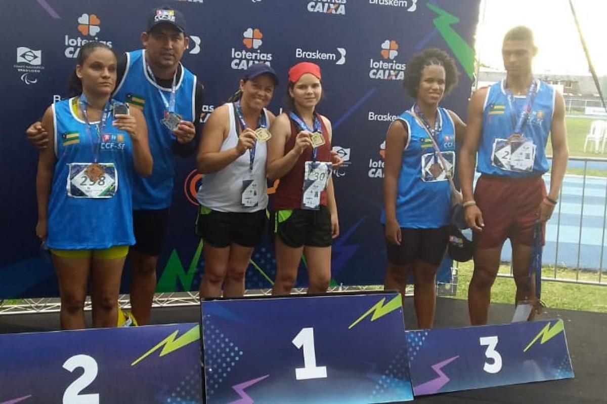 Paratletas sergipanos conquistam medalhas no Regional de Atletismo e Natação (Foto: Assessoria de Comunicação SUPEE)