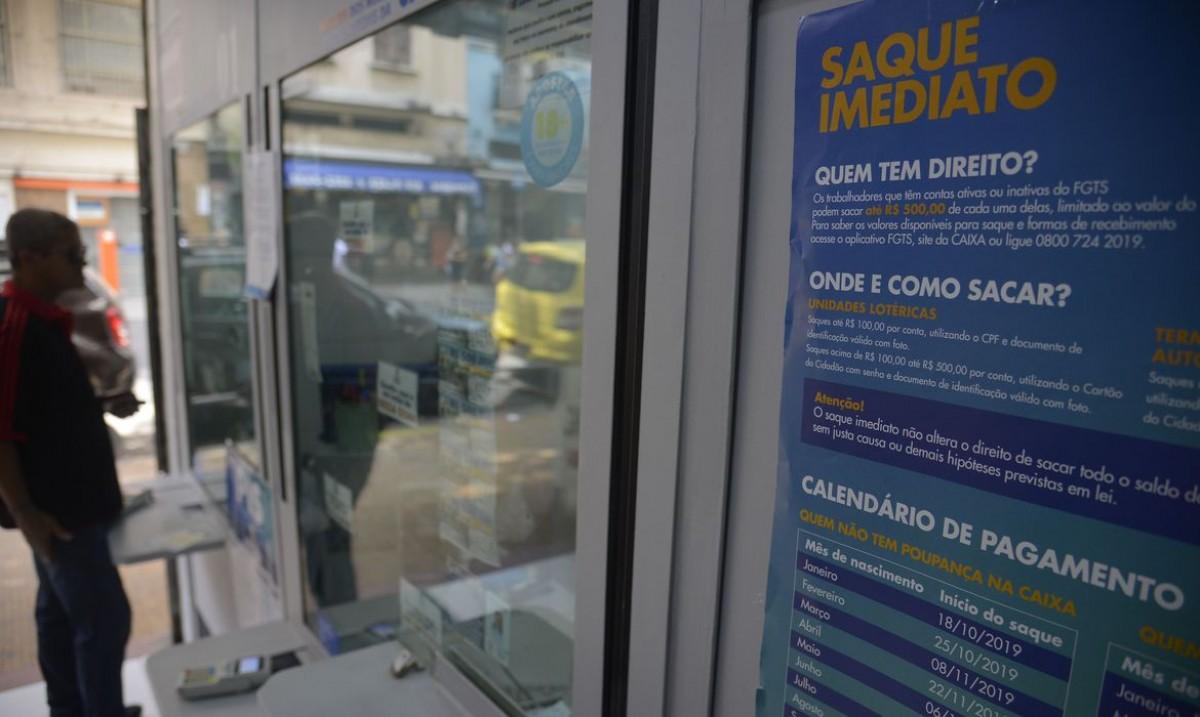 Parcelamento do FGTS pode ser suspenso por até seis meses (Foto: Fernando Frazão/ Agência Brasil)