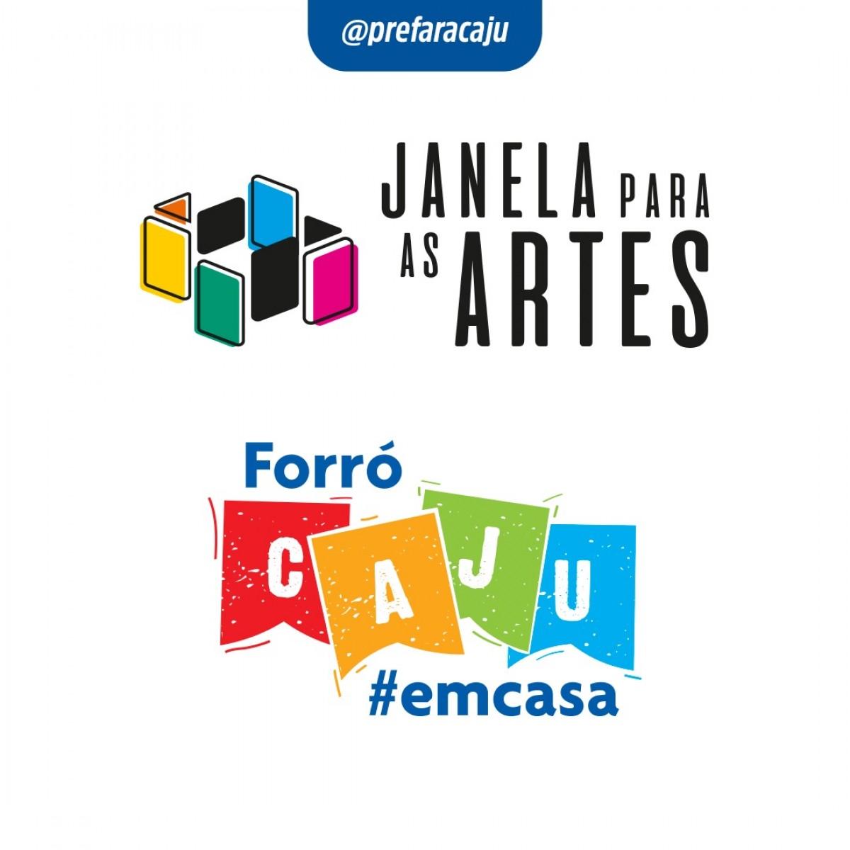Prefeitura de Aracaju abre inscrições dos programas Janela para as Artes e Forró Caju em Casa (Imagem: Prefeitura de Aracaju)