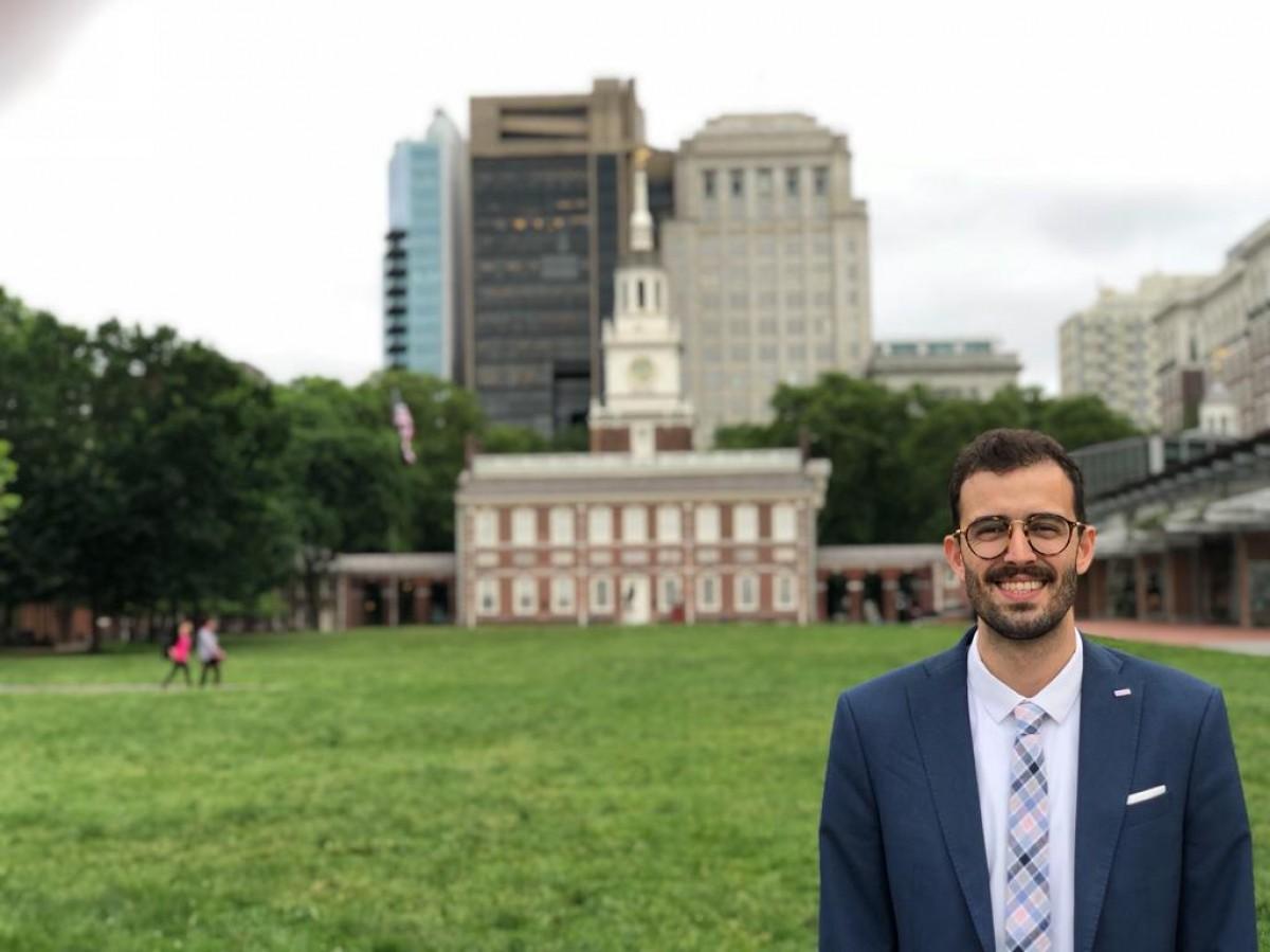 Otávio Correia, Professor de Política Internacional, Bacharel e Mestre em Relações Internacionais e Diretor Executivo do Tiradentes Institute, em Boston (EUA) - Foto: Assessoria de Imprensa Unit