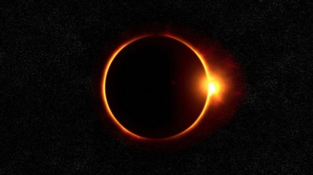 Eclipse vai criar anel de fogo no céu neste domingo; assista (Foto ilustrativa: Pixabay)