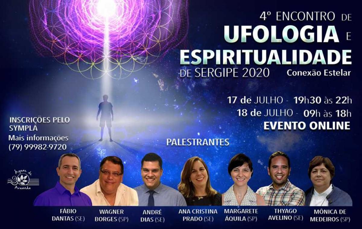 4º Encontro de Ufologia e Espiritualidade de Sergipe: Conexão Estelar (Imagem: Divulgação)