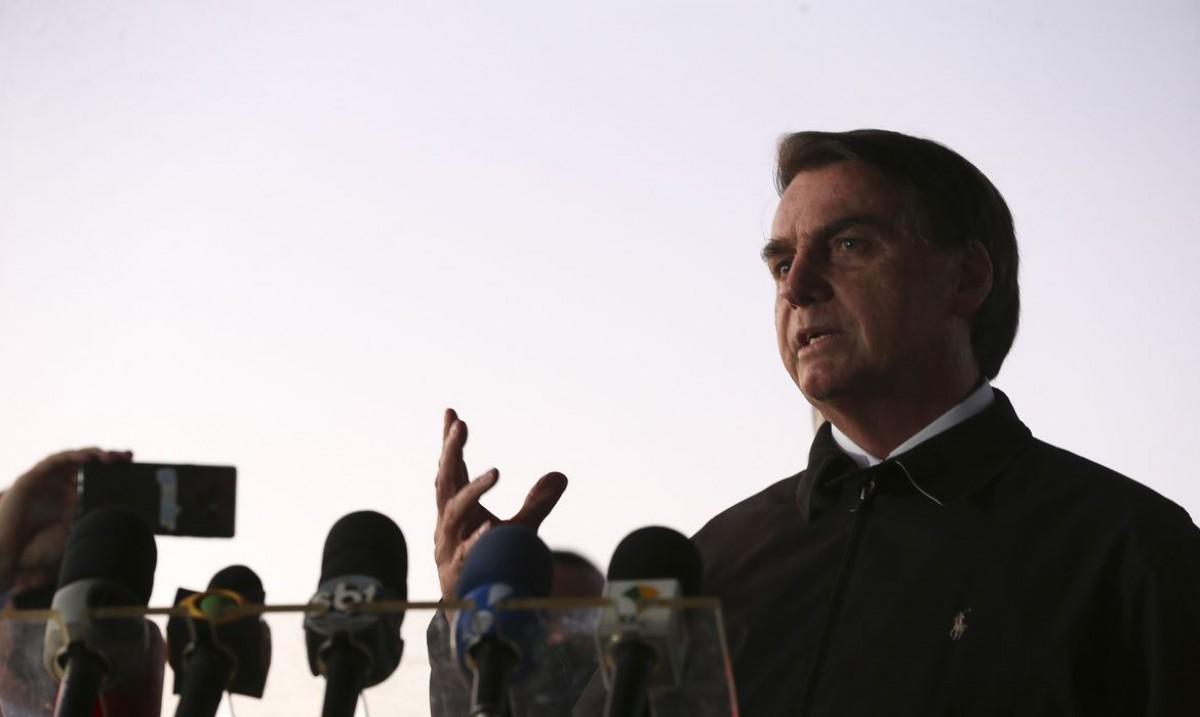 Bolsonaro elogia Decotelli e diz que ministro está ciente de equívoco (Foto: Marcello Casal Jr./ Agência Brasil)