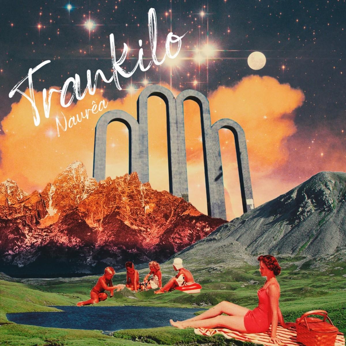 """Capa do single """"Trankilo"""" (Arte:Fernando Xeres)"""