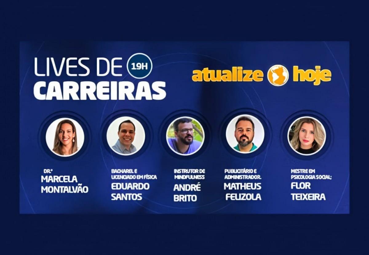 """Empreendedorismo: Unit promove o """"Lives de Carreiras"""" (Imagem: Assessoria de Imprensa Unit)"""