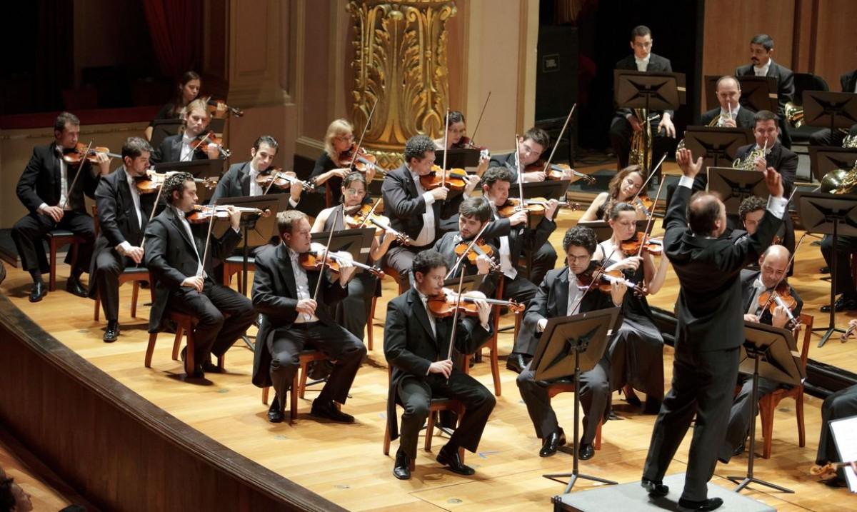 Orquestra Sinfônica Brasileira celebra 80 anos de existência (Foto: Divulgação/ FOSB)