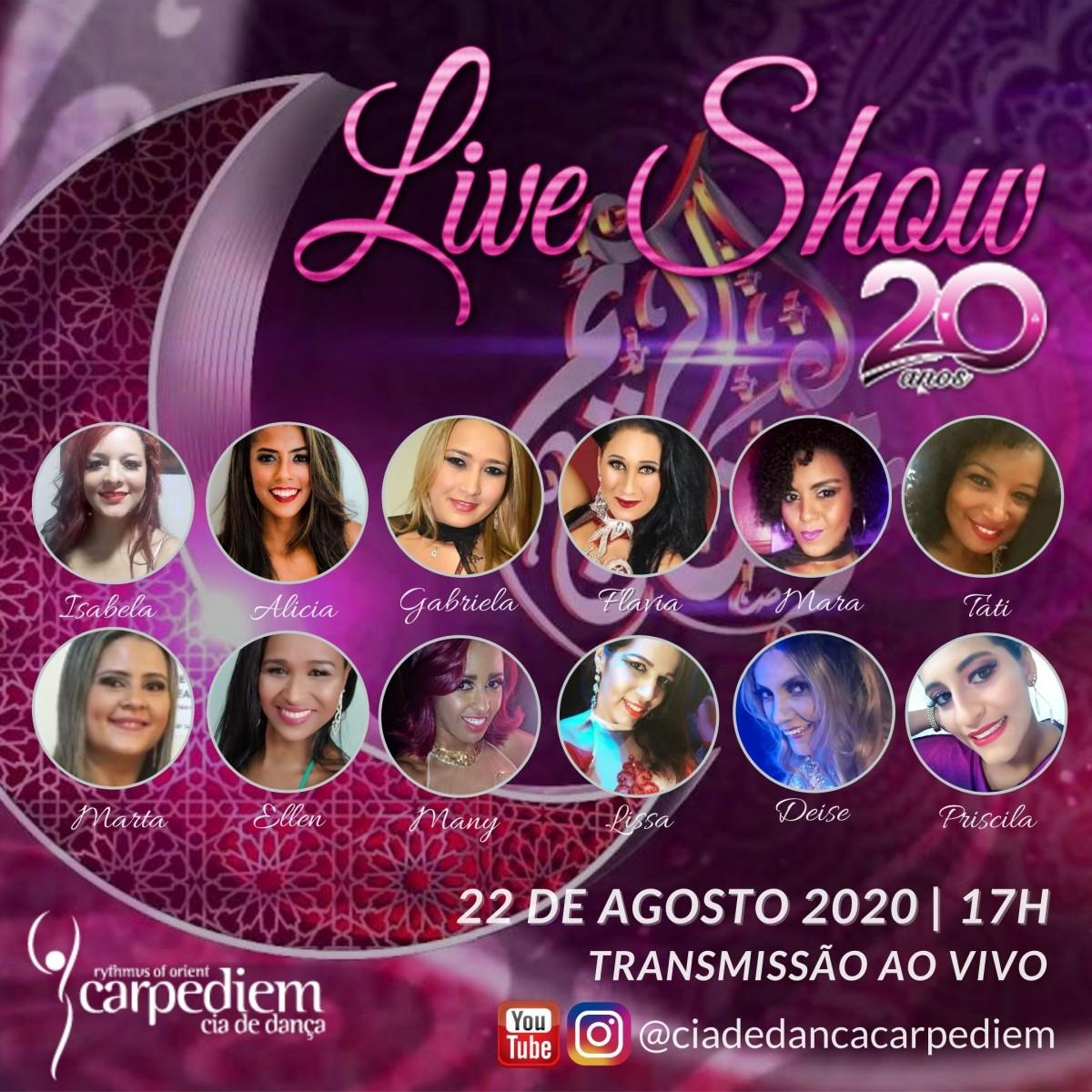 Cia de Dança Carpe Diem faz Live Show (Imagem: Divulgação)