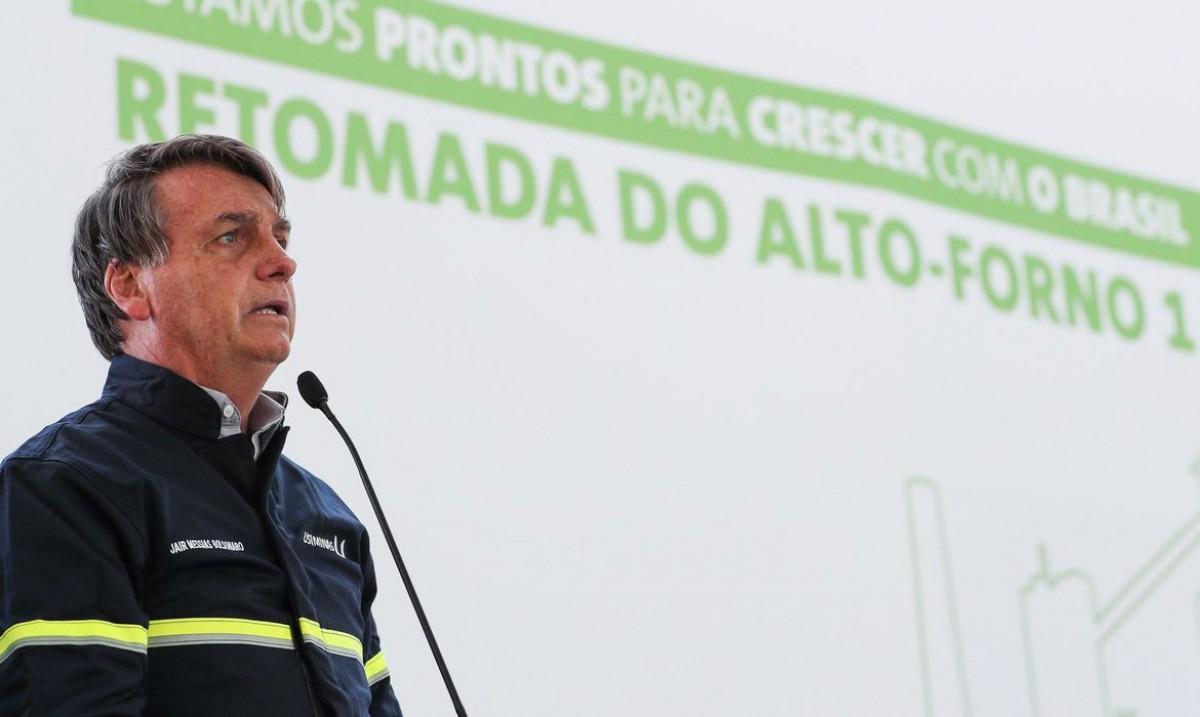 Bolsonaro diz que proposta do Renda Brasil está suspensa (Foto: Marcos Correa/ PR)