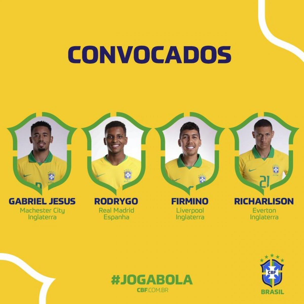 Tite anuncia convocados para início das Eliminatórias da Copa de 2022 (Imagem: Reprodução/ Twitter/ @CBF_Futebol)