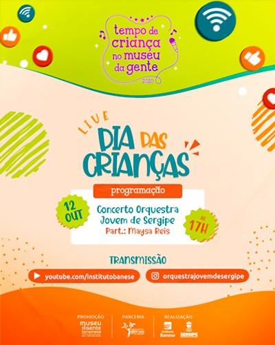 Museu da Gente fará live com Orquestra Jovem e Maysa Reis (Imagem: Divulgação)
