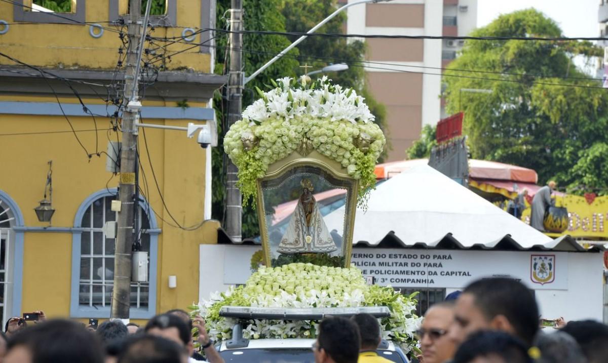 Círio de Nazaré adaptado começa nesta sexta-feira (9/10) em Belém (Foto: Wilson Dias/ Agência Brasil)