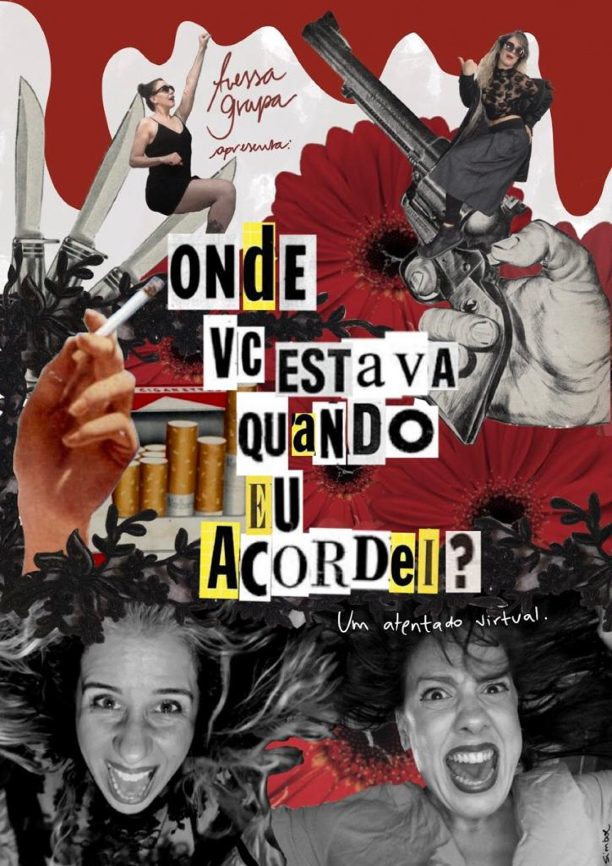 Avessa Grupa estreia peça virtual com Diane Veloso e Giuliana Maria (Imagem: Divulgação/ Rafaella Simbol)