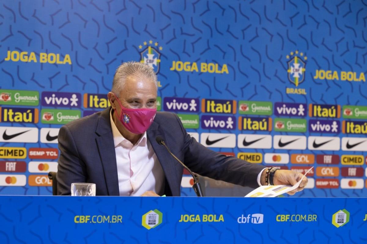 Convocação da Seleção Principal Masculina para a data FIFA de novembro (Foto: Lucas Figueiredo/ CBF)