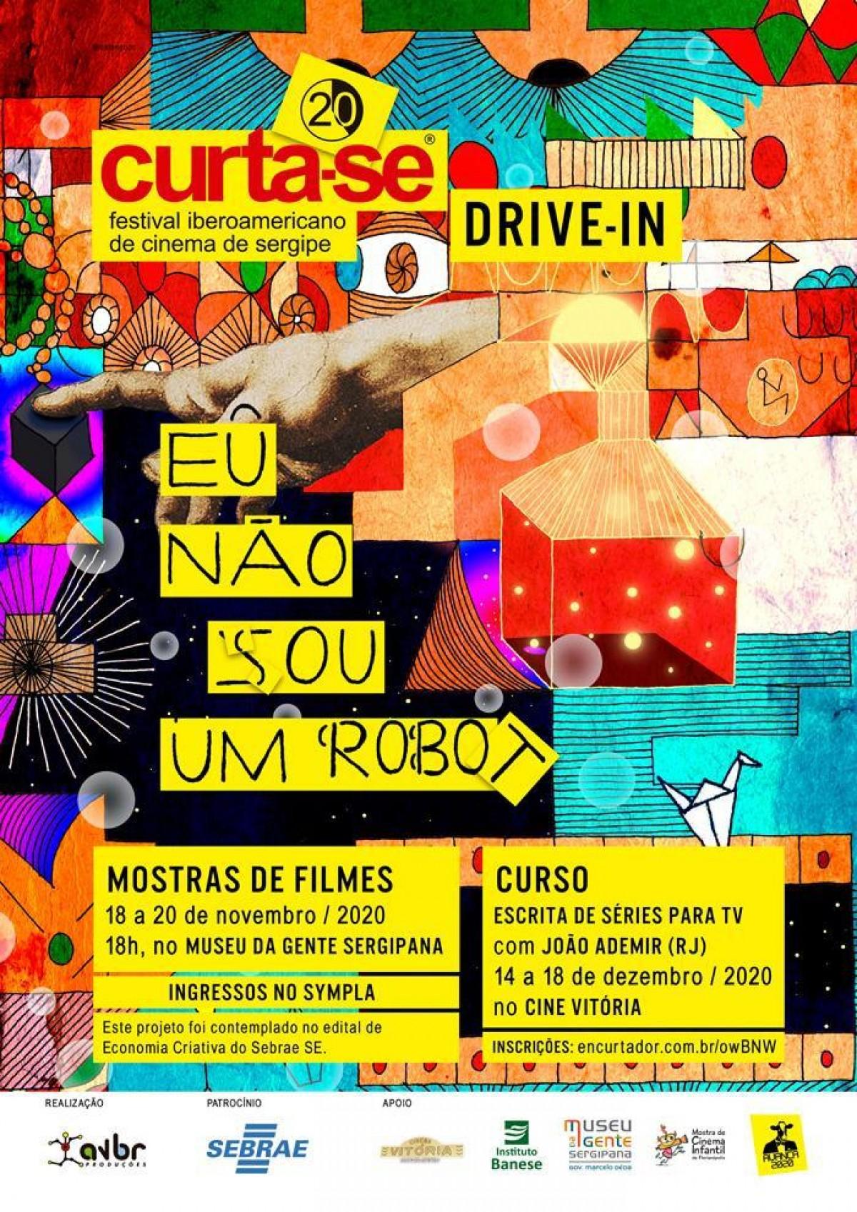 Curta-SE começa nesta quarta-feira, 18/11, com sessão acessibilidade (Imagem: Divulgação/ Casa Curta-SE)
