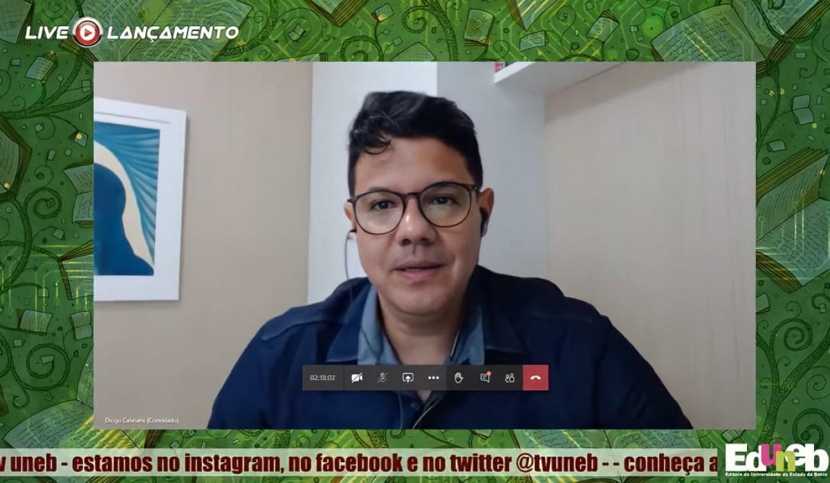 Prof. Dr. Diogo de Calasans Melo Andrade (Foto: Assessoria de Imprensa Unit)