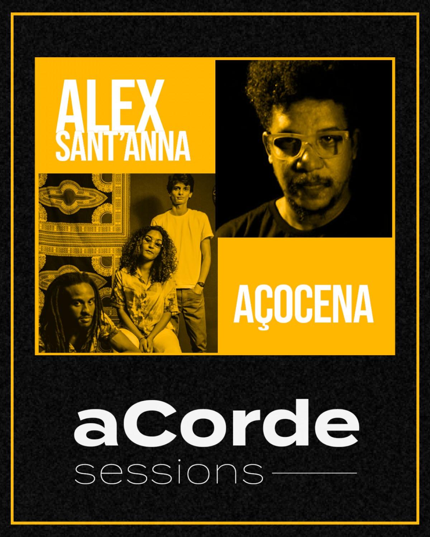 Alex Sant´Anna e Açocena se apresentam no aCorde Sessions (Imagem: Divulgação/ aCorde Session)