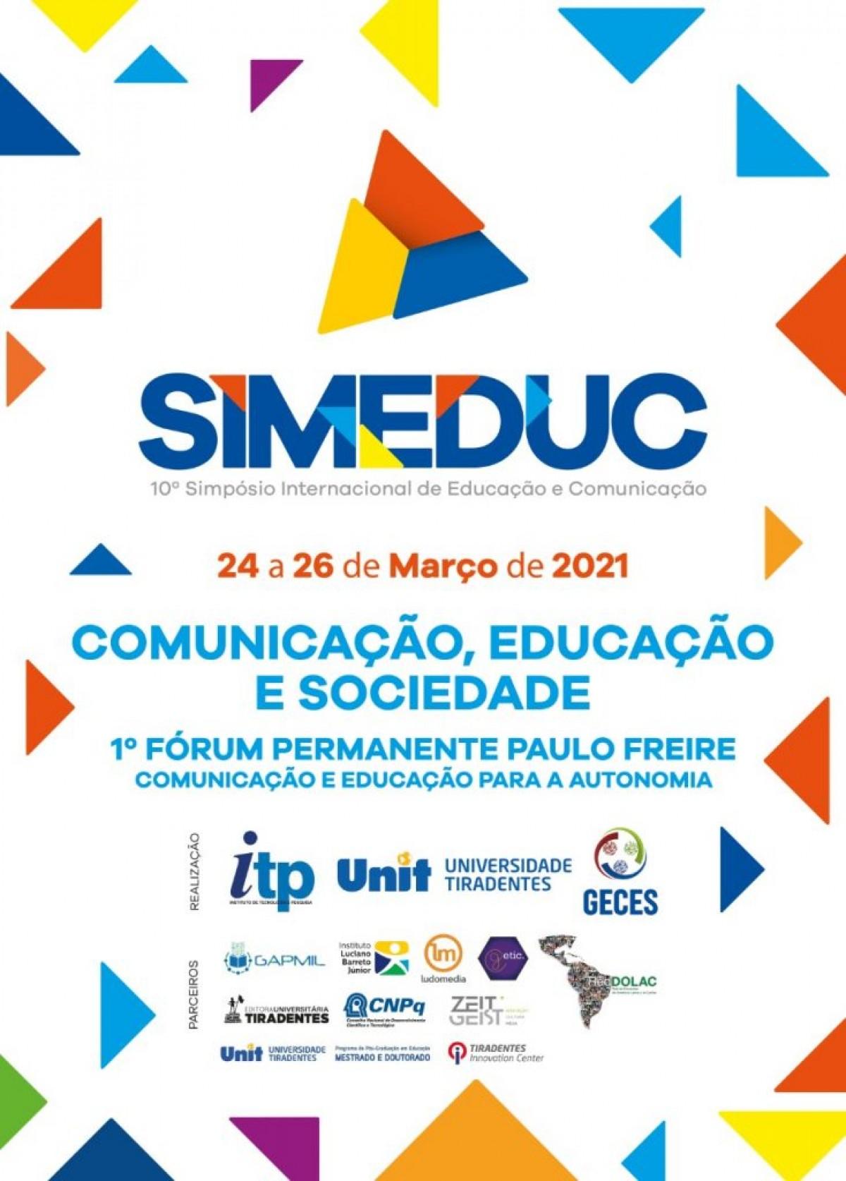 """""""Comunicação, Educação e Sociedade"""" é tema de simpósio internacional (Imagem: Divulgação)"""