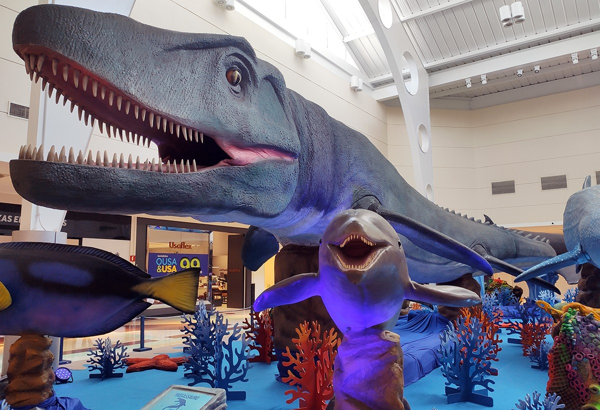 Exposição internacional O Fantástico Mundo Marinho no Shopping Jardins (Foto: Divulgação)