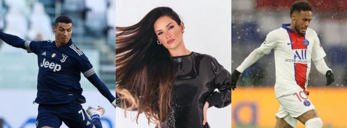 BBB 21: Juliette supera Neymar e Cristiano Ronaldo em curtidas no Instagram (Imagem: Olhar Digital)