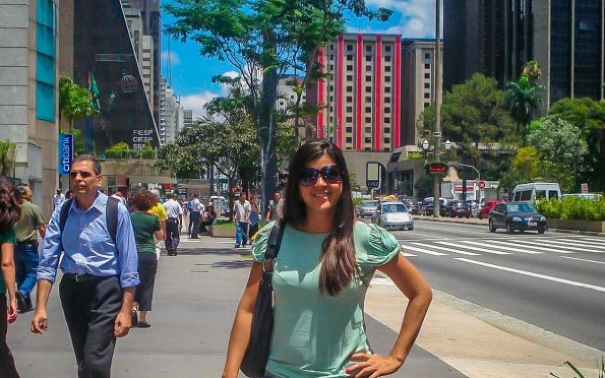 A Avenida Paulista é o melhor resumo da cidade de São Paulo. Ela é viva, pulsante e está sempre em transformação (Foto: Carla Passos)