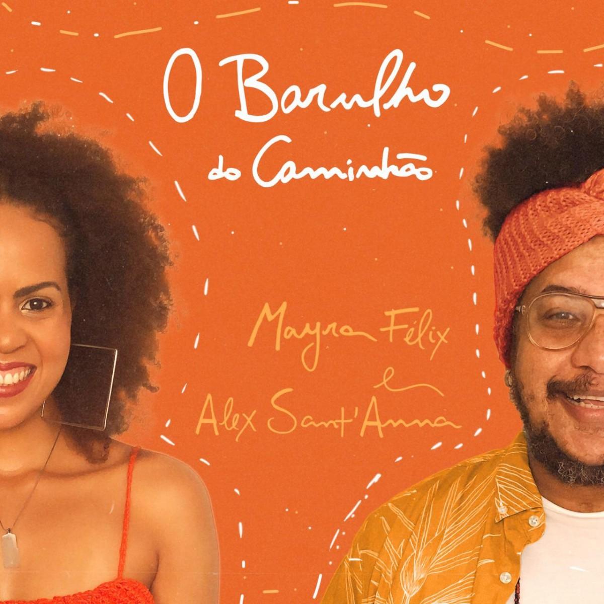 Mayra Félix lança novo single de samba rock em parceria com Alex Sant´Anna (Imagem: Divulgação)