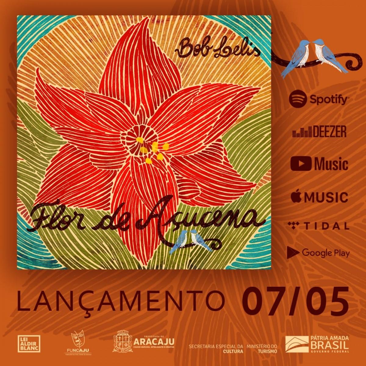 "Bob Lelis lança álbum ""Flor de Acuçena"" (Foto: Divulgação)"