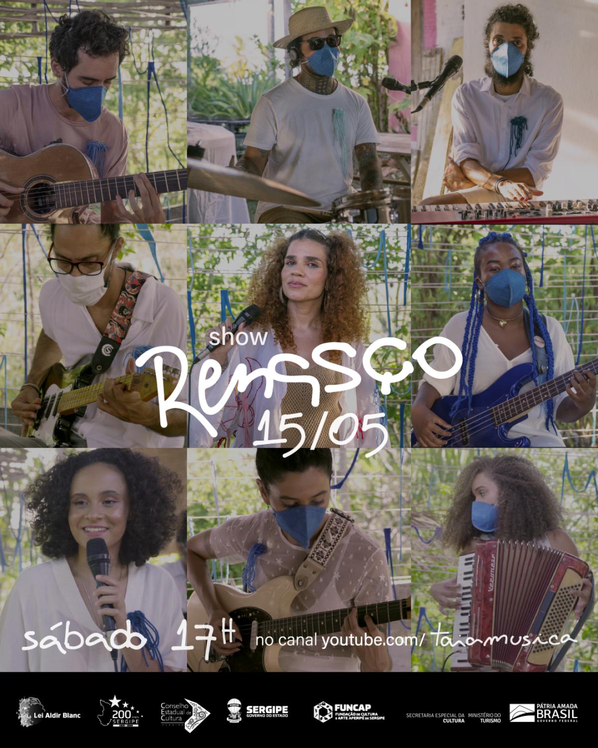 """Taia lança primeiro show autoral com músicas do seu mais novo álbum """"Renasço"""" (Imagem: Divulgação)"""