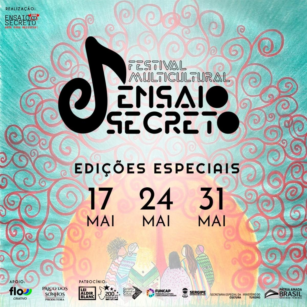 O Coletivo de Artes Ensaio Secreto lança Festival Multicultural (Imagem: Divulgação)