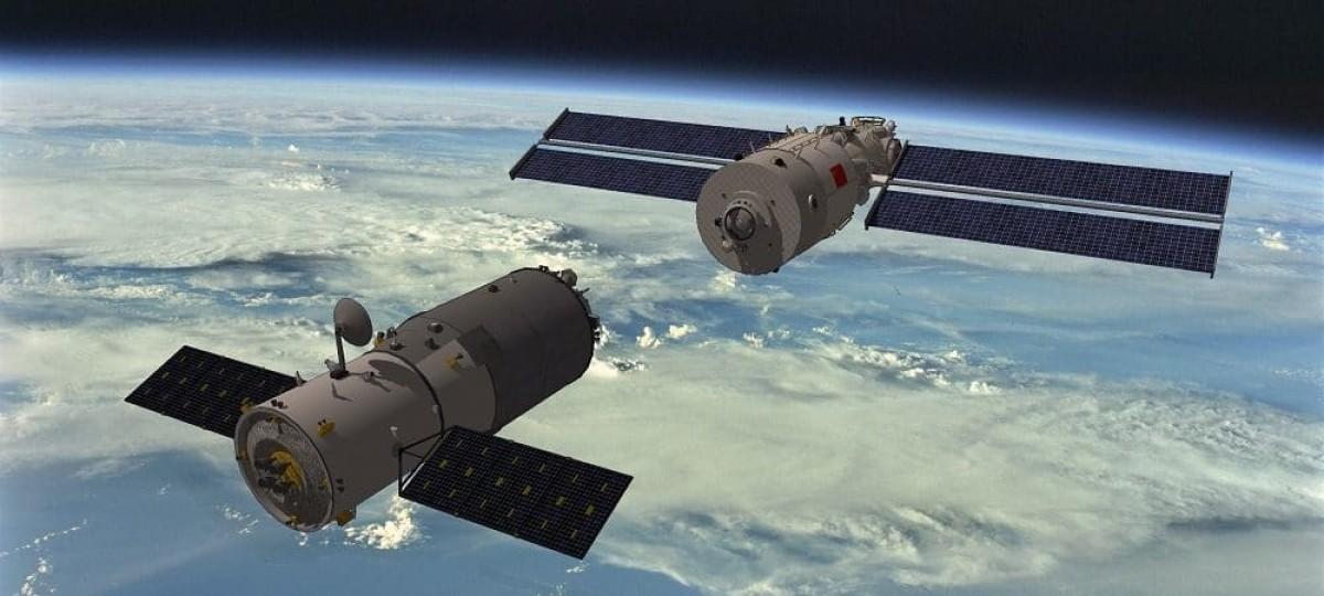 Estação Espacial Chinesa é uma ameaça à segurança nacional, diz relatório dos EUA (Imagem: Olhar Digital)